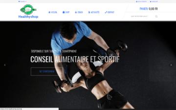 Healthyshop.nc Site Internet Nouméa Nouvelle-Calédonie