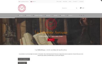 Librairie Antique Site Internet Nouméa Nouvelle-Calédonie