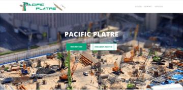 Pacificplatre.nc Site Internet Nouméa Nouvelle-Calédonie